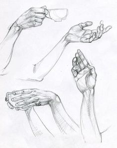 65 Super Ideas For Drawing Hand Reference Illustrations Gesture Drawing Poses, Arm Drawing, Hand Drawing Reference, Drawing Hands, Art Reference Poses, Life Drawing, Figure Drawing, Drawing Lessons, Hand Drawings