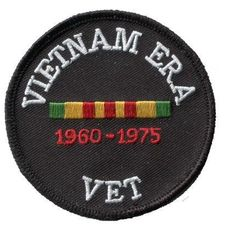 Vietnam Veteran Patch - Vietnam Era US Military Service (Iron on) High Quality Collectible Iron On