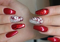 Nail Art Red