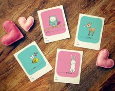 14 of the best designed free Valentine's Printables on the web.