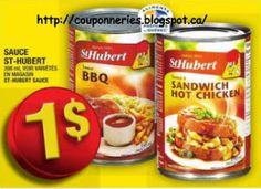 Coupons et Circulaires: 1$ Sauce ST-HUBERT
