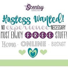 Do you love #scentsy and have #friends and family? Ask me about hosting a party! You could earn a bunch of FREE Scentsy! #hosting