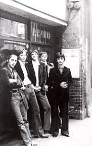 Flaming Groovies @The Marquee club, 1976  http://www.themarqueeclub.net
