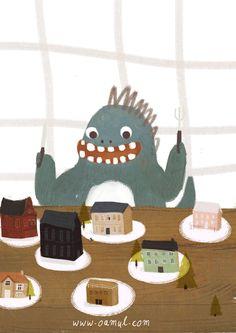Little Gluttonous Monster | 卤猫