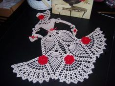 Vctorian doll doily hand crochet by solerichard on Etsy Crochet Dollies, Crochet Quilt, Thread Crochet, Crochet Motif, Crochet Crafts, Crochet Flowers, Hand Crochet, Crochet Lace, Crochet Stitches
