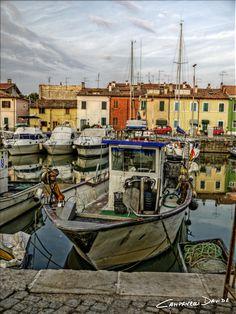 Puerto de, Pesaro (Pesaro e Urbino), Marche region Italy