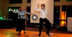 This is way too cool. I seriously love this. {Epic Mother Son Wedding Dance}