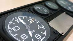 Reloj de sobremesa estilo Aviador. Regalos originales