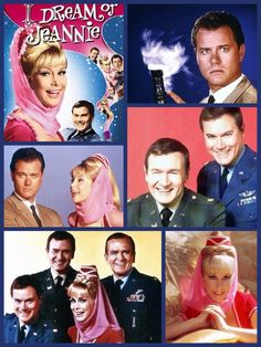 I Dream of Jeannie - (1965-1970), starring Barbara Eden, Larry Hagman, Bill Daily and Hayden Rorke