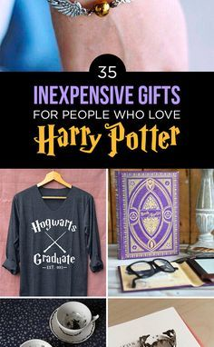"35 Awesome And Inexpensive ""Harry Potter"" Gifts"