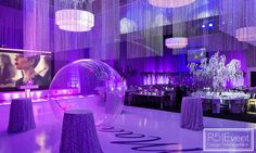 Brilliant lighting, custom chandelier, flowers, trees and furniture for this incredible Bat Mitzvah by Event Design! Bat Mitzvah Themes, Event Company, Theme Ideas, Corporate Events, Event Design, Avatar, Wedding Decorations, Chandelier, Trees
