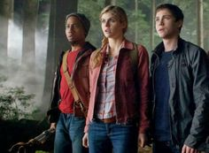 Grover, Annabeth, and Percy.