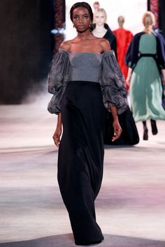 Ulyana Sergeenko коллекция   Коллекции осень-зима 2013/2014   Париж   VOGUE
