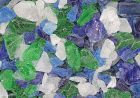 Beach glass and decorative pebbles in a variety of colors and sizes for indoor projects or outdoor landscaping. Huge selection of beach glass pebbles available.