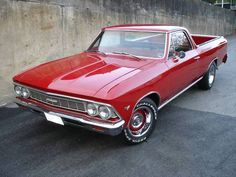 1966 Chevrolet El Camino...Re-pin Brought to you by agents at #HouseofInsurance in #EugeneOregon for #CarInsurance