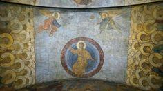 Affresco del Giudizio Universale.   Cattedrale della Dormizione di Vladimir.  1408