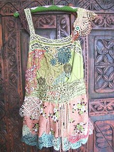 Forest Fae Top by AllThingsPretty on Etsy