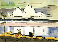 Karl Schmidt-Rottluff's 'The White Cloud (Die weisse Wolke),' 1936