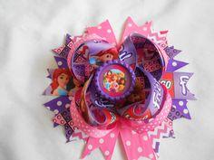 Lego Friends Boutique Hair Bow by AllThingsGirlyBows on Etsy https://www.etsy.com/listing/188341342/lego-friends-boutique-hair-bow