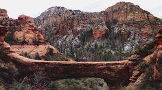 Vultee arch. Red Rock Secret Mountain Wilderness. Sedona, Arizona / kevin russ