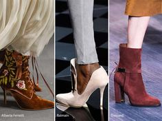 Fall/ Winter 2016-2017 Shoe Trends: Suede Shoes & Boots