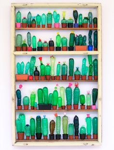Recycled Plastic Bottle Art by Veronika Richterová. See her work here: http://www.veronikarichterova.com/en/my-works/