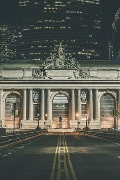 you can see my old office building behind Grand Central, 200 Park Avenue,  NYC.