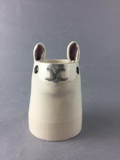 Handmade Alpaca or Llama Shaped Mug The Taylor  by sunshinevanryn