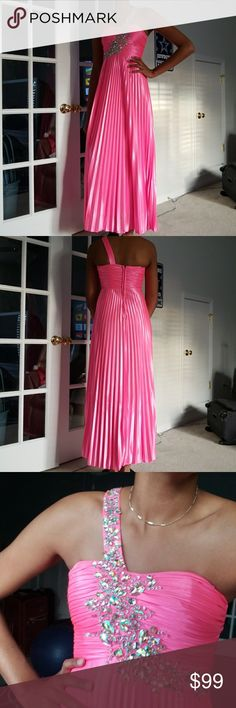 I just added this listing on Poshmark: PROM DRESS. #shopmycloset #poshmark #fashion #shopping #style #forsale #Deb #Dresses & Skirts