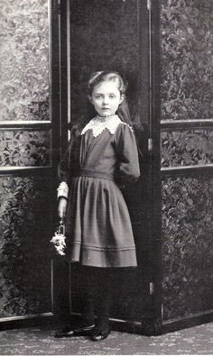 The First Waltz:  Princess Patricia of Connaught at 5 years old. February, 1891.