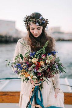 Wild autumn wedding