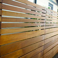 The Skyline Wood Privacy Fence - These images are of the Skyline Wood Privacy Fence installed by Fence Workshop™.