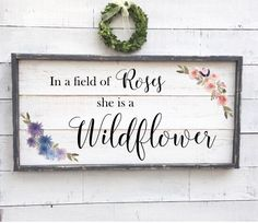 A personal favorite from my Etsy shop https://www.etsy.com/listing/487964830/in-a-field-of-roses-she-is-a-wildflower