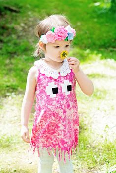 *Summer Sale* only $13 for a limited time only---Side Eyed Ghost Frilled Boarder Dress (various colors) – Still Rad Clothing