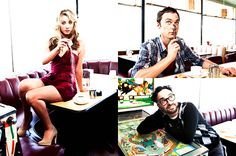 The Big Bang Theory - The Big Bang Theory Fan Art Penny And Sheldon, Sheldon Leonard, Big Bang Theory Penny, Chuck Lorre, Executive Producer, Great Pictures, Bigbang, Geek Stuff, Fan Art