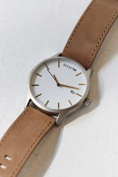 MVMT Classic Leather Watch
