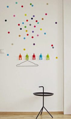 mommo design: IKEA HACKS FOR KIDS - Bastis hooks as coat rack