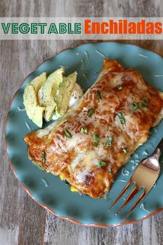 Vegetable Enchiladas - RecipeGirl.com