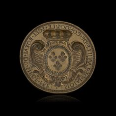 Grand sceau en bronze du XVIIIe siècle