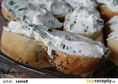 Pomazánkový základ recept - TopRecepty.cz Baked Potato, Camembert Cheese, Menu, Potatoes, Baking, Ethnic Recipes, Food, Menu Board Design, Meal
