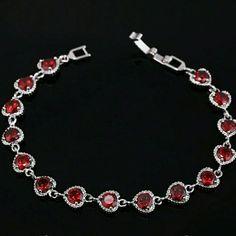 Bracelet.😊 💕 Romantic bracelet cubic zirconia romantic woman in heart shape💖👍 Jewelry