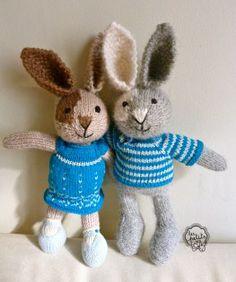 Éponine & Léonard les petits lapins