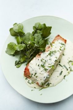 Tarragon Salmon from Nigella Lawson- absolutely delicious!