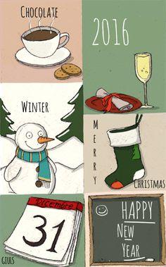 #capodanno #2016 #annonuovo #winter #inverno #neve #cioccolata #dicembre #natale