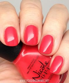 Nicole by OPI The Coral of the Story Best Nail Polish, Nail Polish Colors, Pretty Nail Colors, Pretty Nails, Nicole By Opi, Elegant Nails, Opi Nails, Beauty Shop, Mani Pedi