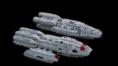 Lego Ship, Battlestar Galactica, Pegasus, Family Photos, Lego Stuff, Spacecraft, Space Crafts, Family Pictures, Lego Boat