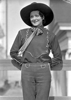 Bronc rider, Mary Keen, 1935
