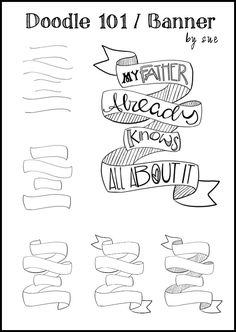 how to draw a scroll step by step
