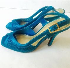 Chinese Laundry Colette Turquoise Blue Formal Shoes Heels 6.5 Wedding Dress Prom  | eBay #wedding #shoes #chinese laundry #heels #formalshoes #shopshoes #shop #blueshoes