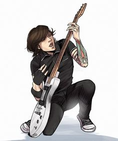 There are so many good photos and pose references from Projekt Revolution (back when he had less tattoos that need to be drawn 🙏) . Emo Bands, Music Bands, Mcr Memes, Emo Art, Black Parade, Drawing Reference Poses, My Chemical Romance, Our Lady, Rock Music